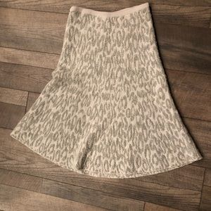 THEORY Wool Size Large A Line Skirt
